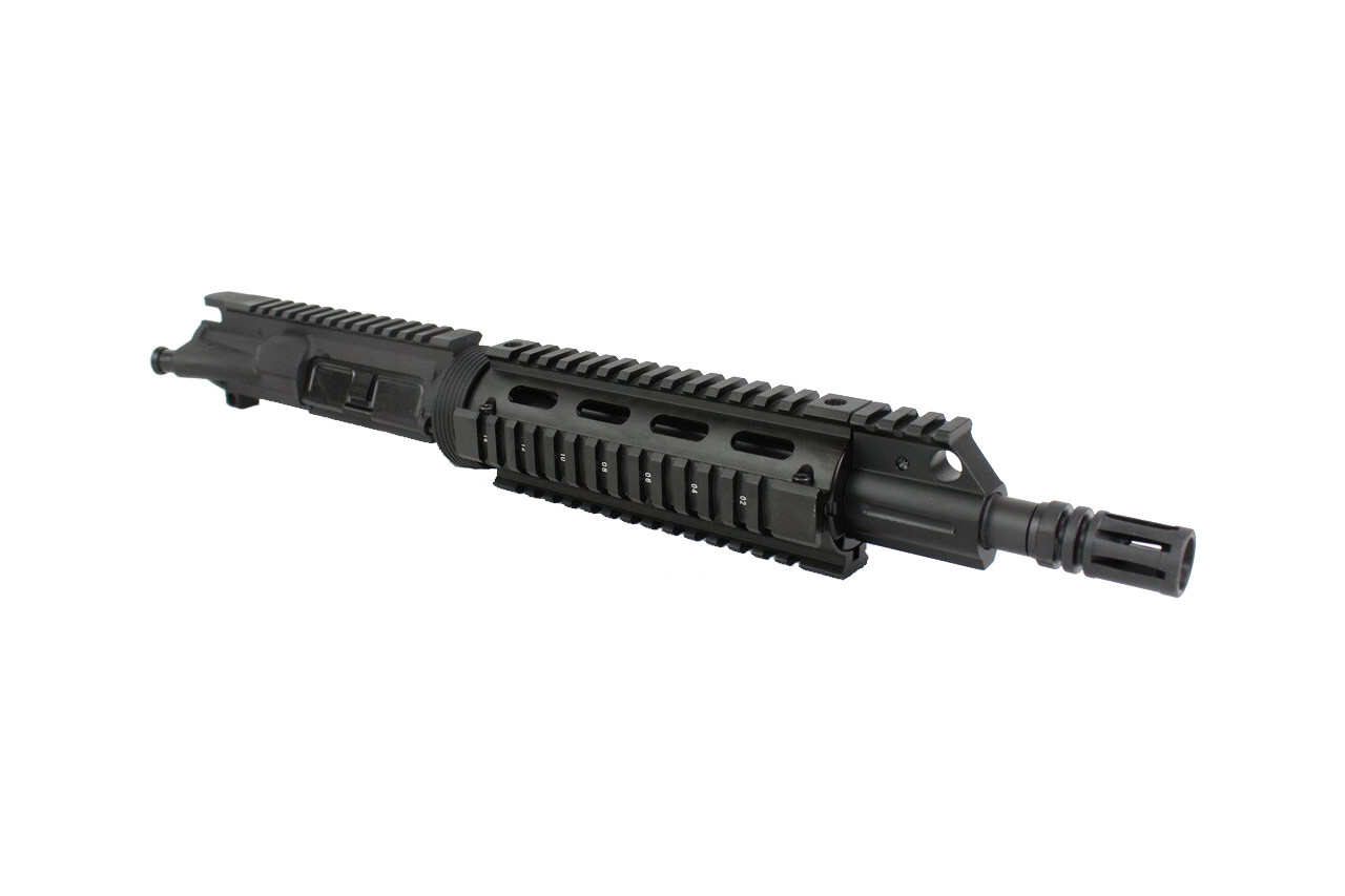 "5.56 Nato 'Operator Series' 10.5"" Nitride Upper Receiver / 1:8 Twist / 6.7"" Delta Ring Quad Picatinny Rail"
