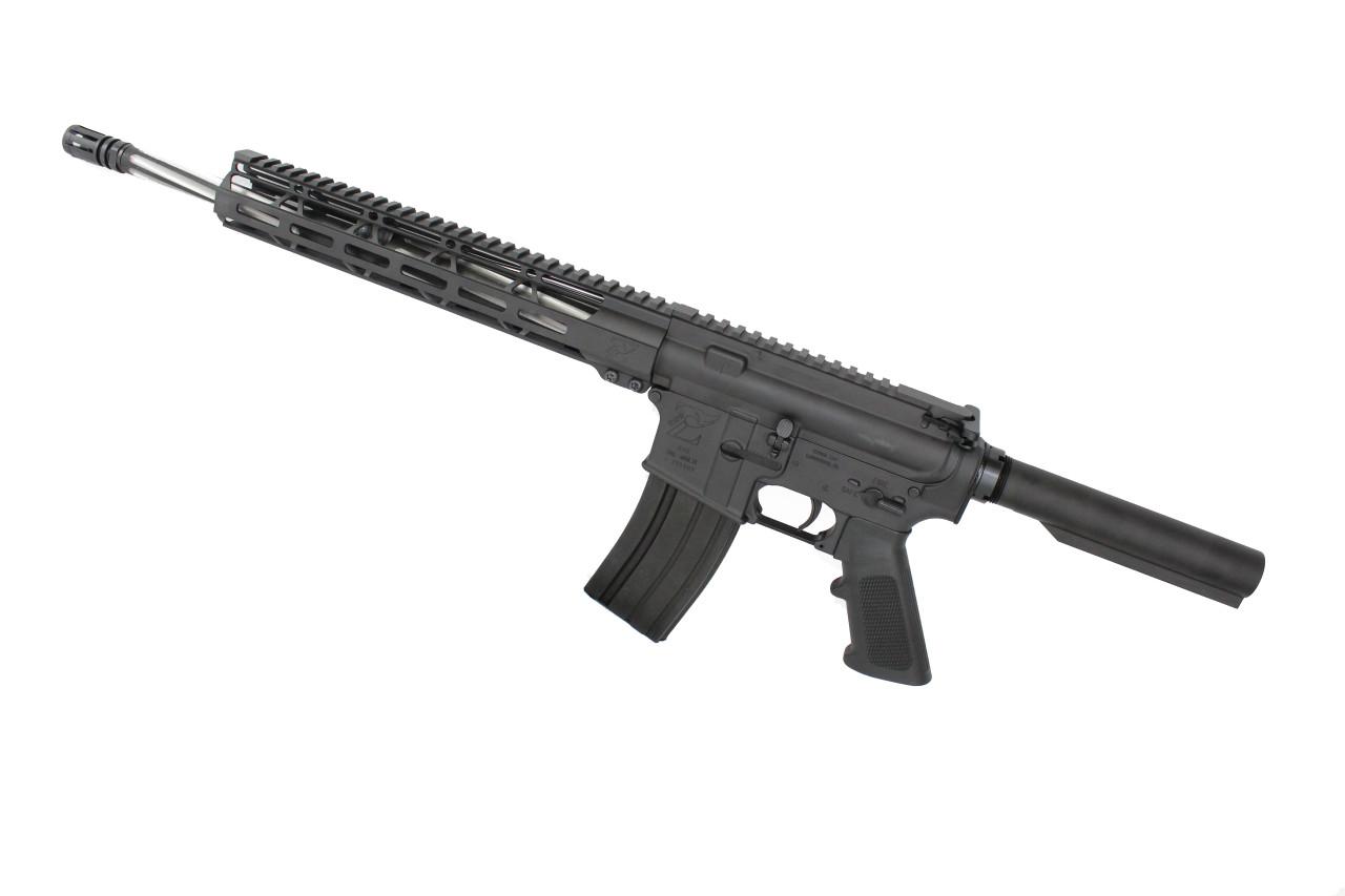 "7.62x39 'Wolverine Series' 16"" Bear Claw Complete Rifle / 1:10 Twist / 12"" MLOK Handguard"