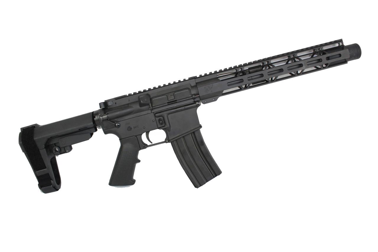 "300AAC Blackout 'Special Ops Series' 10.5"" Nitride Complete Pistol / 1:8 Twist / 12"" MLOK Handguard"