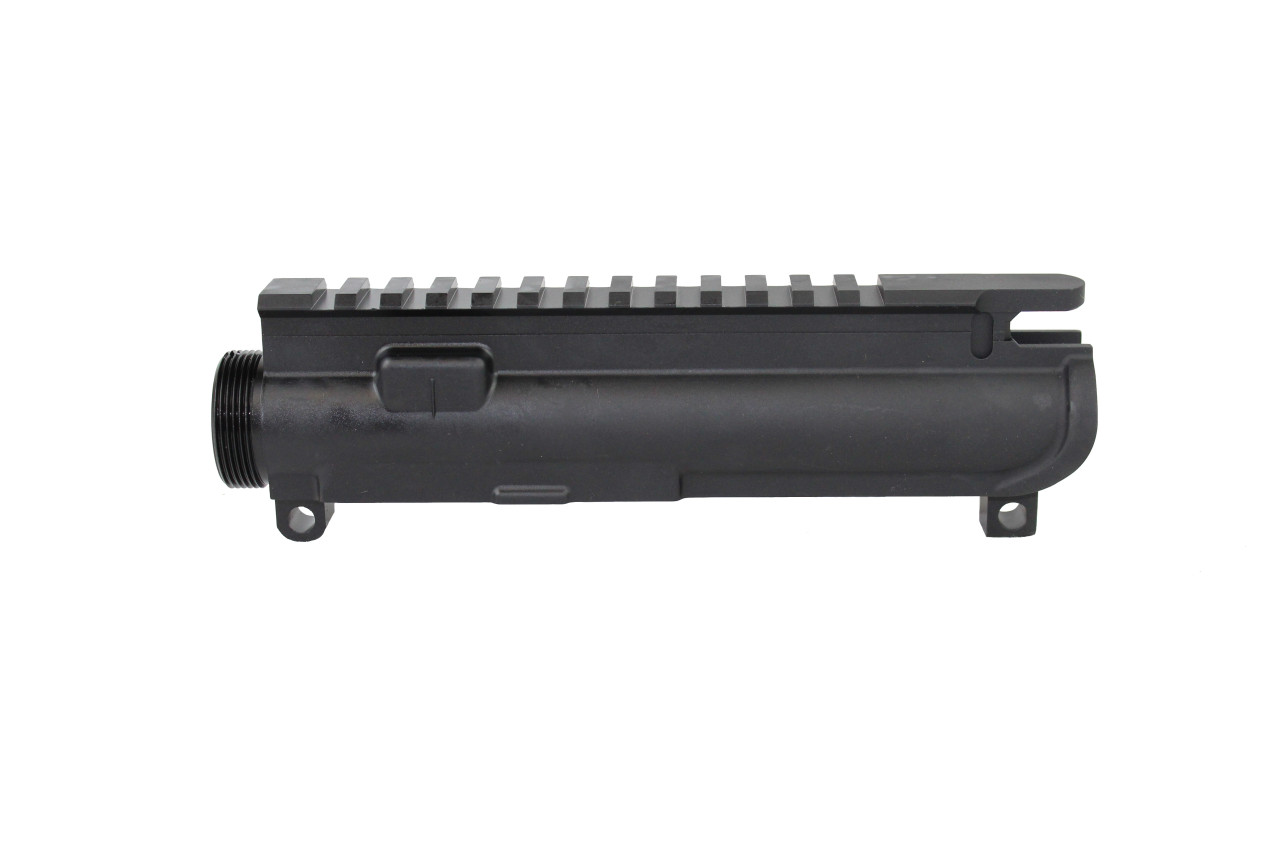 AR-15 Black Anodized Stripped Upper Receiver - 5 Pack