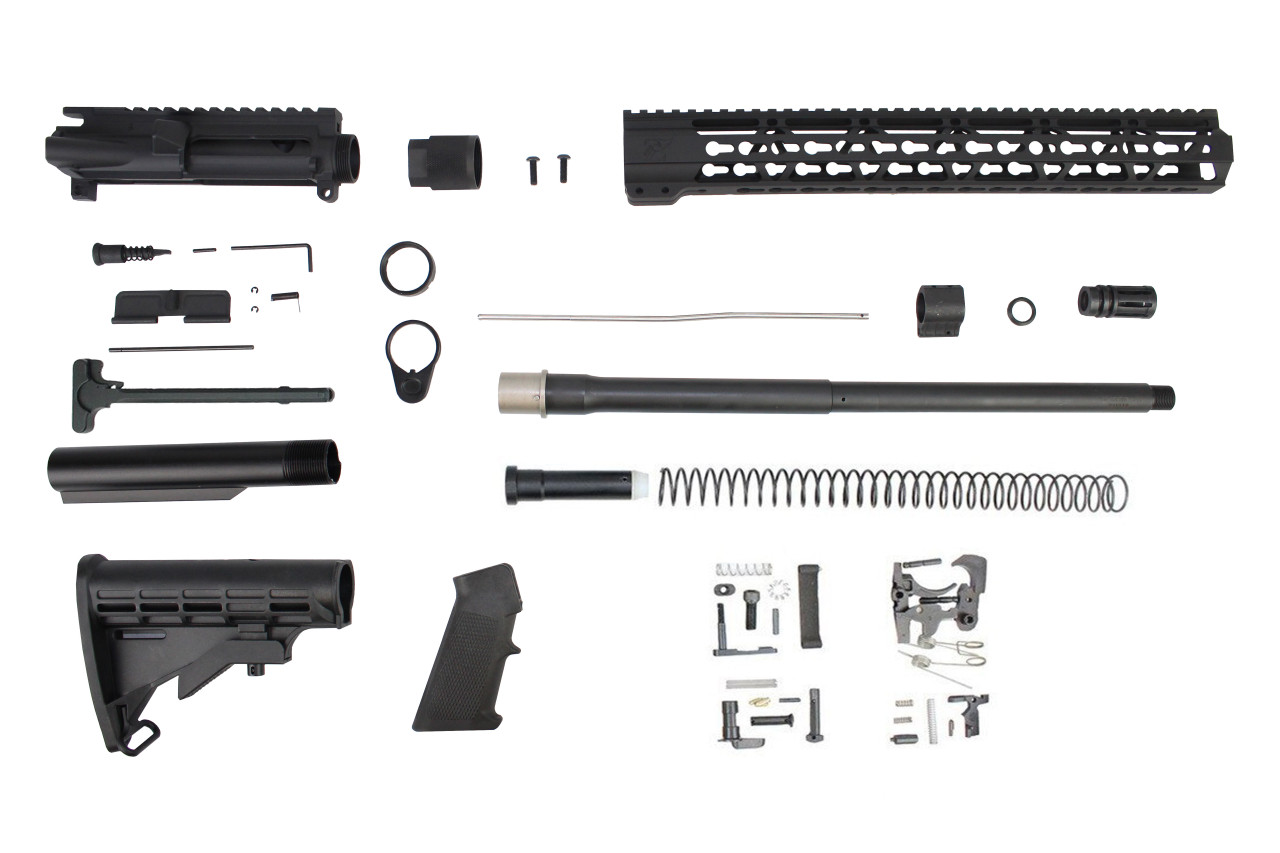 ".350 Legend 'Hunter Series' 16"" Nitride Builder Kit / 1:16 Twist / 15"" KeyMod Handguard"