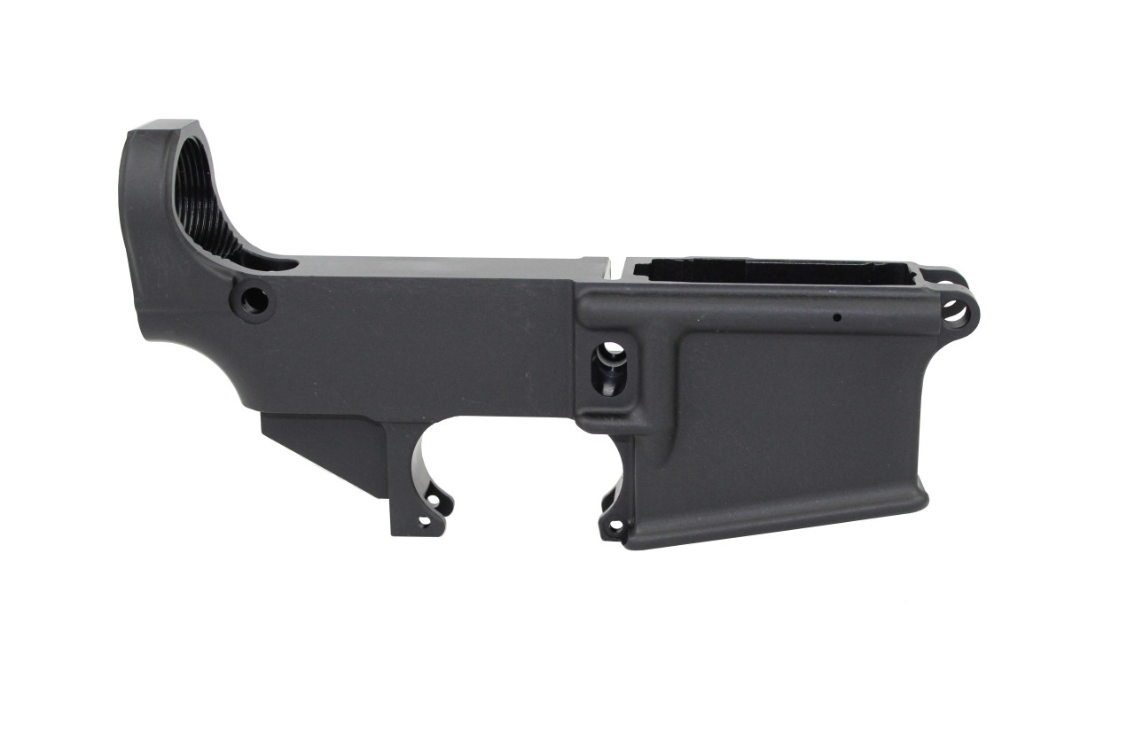 AR-15 Black Cerakote Mil-Spec 80% Lower Receiver