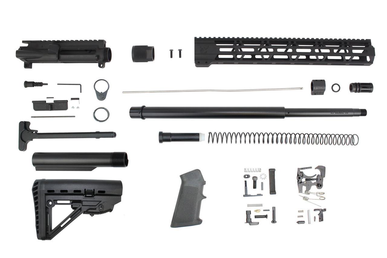 "6.5 Grendel Type II 'Recon Series' 20"" Nitride Builder Kit / 1:8 Twist / 15"" MLOK Handguard"
