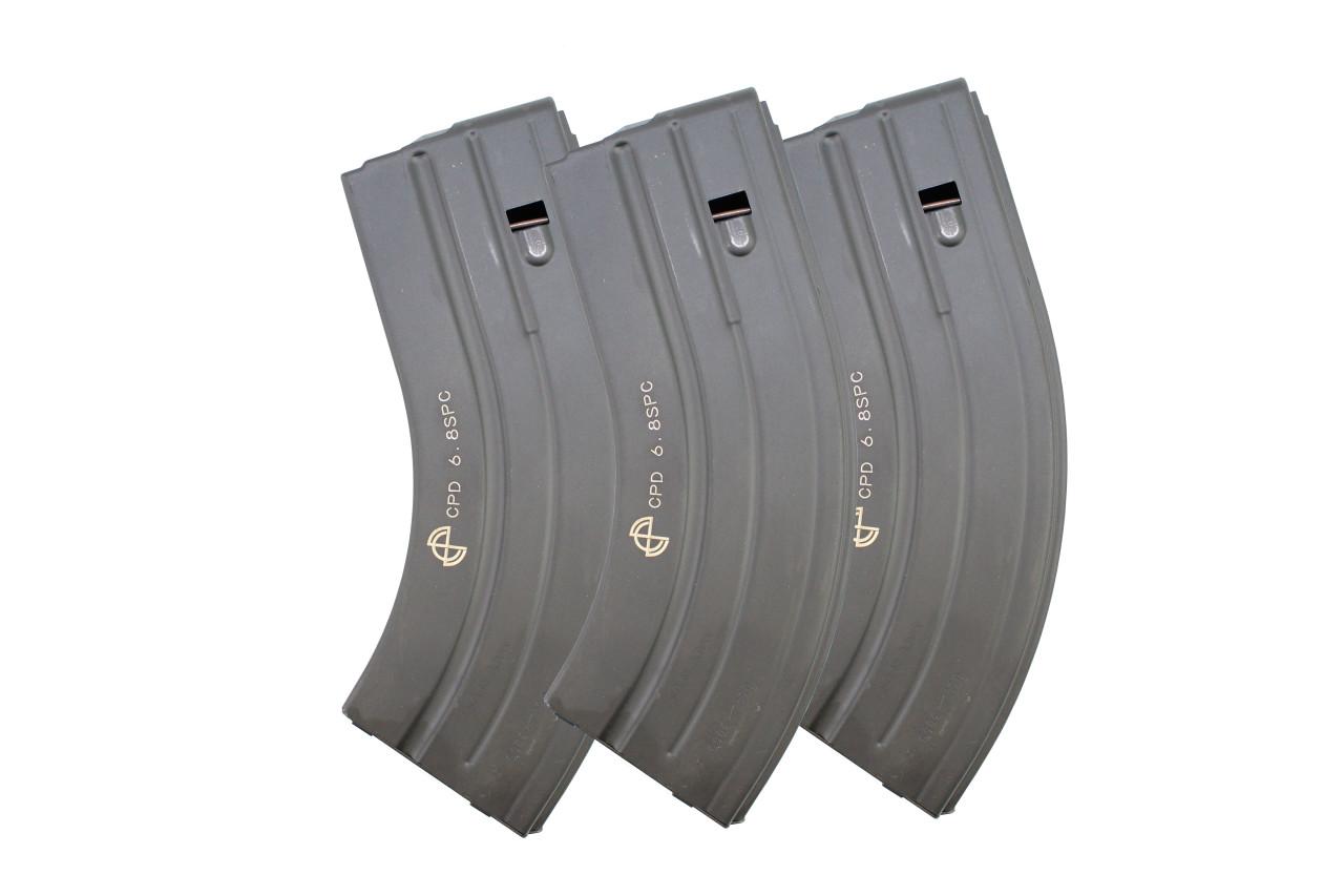 6.8 SPC / .224 Valkyrie C Products Defense 28 Round Magazine - 3 Pack