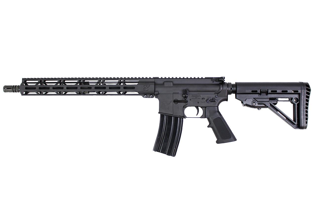 "5.56 Nato 'Operator Series' 16"" Government Complete Rifle / 1:8 Twist / 15"" MLOK Handguard / Hercules Stock"