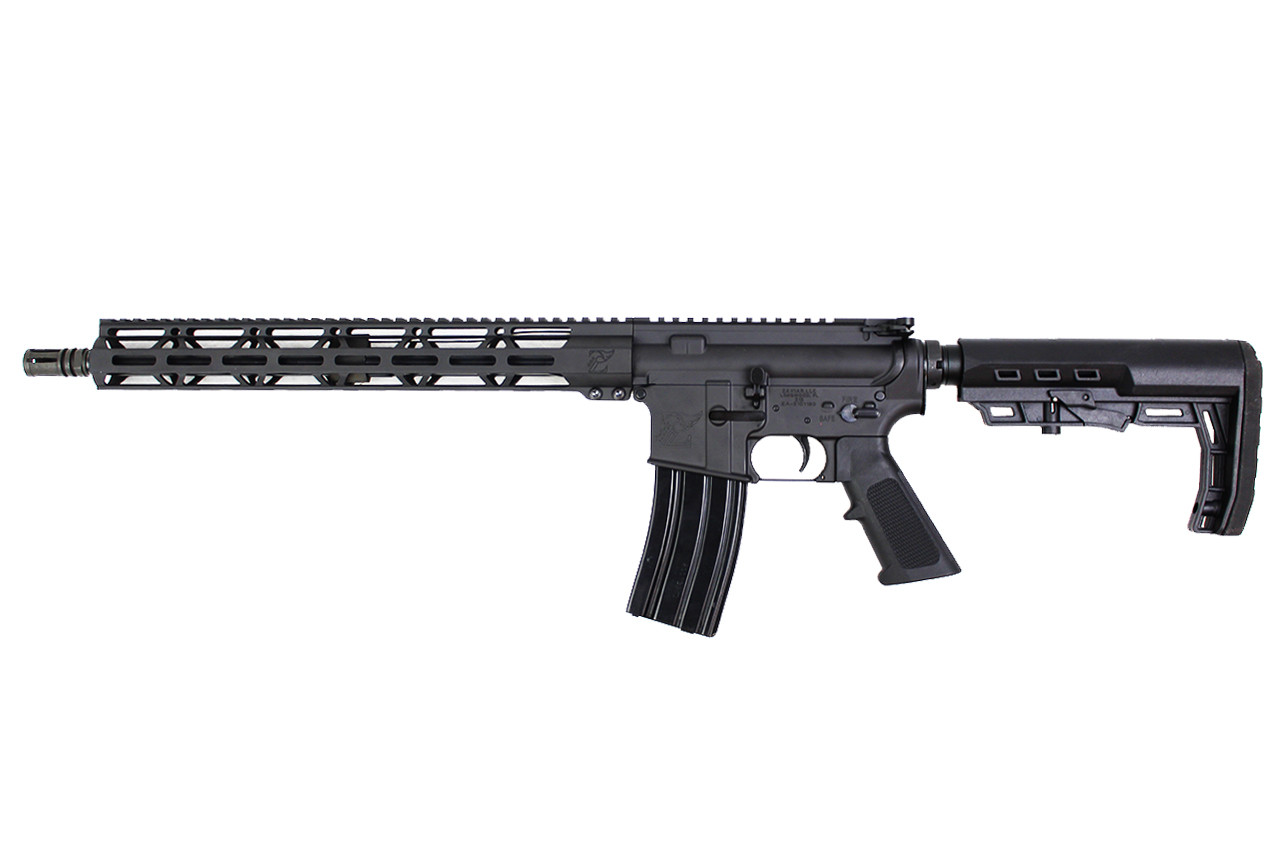 "5.56 Nato 'Operator Series' 16"" Government Complete Rifle / 1:8 Twist / 15"" MLOK Handguard / Loki Stock"