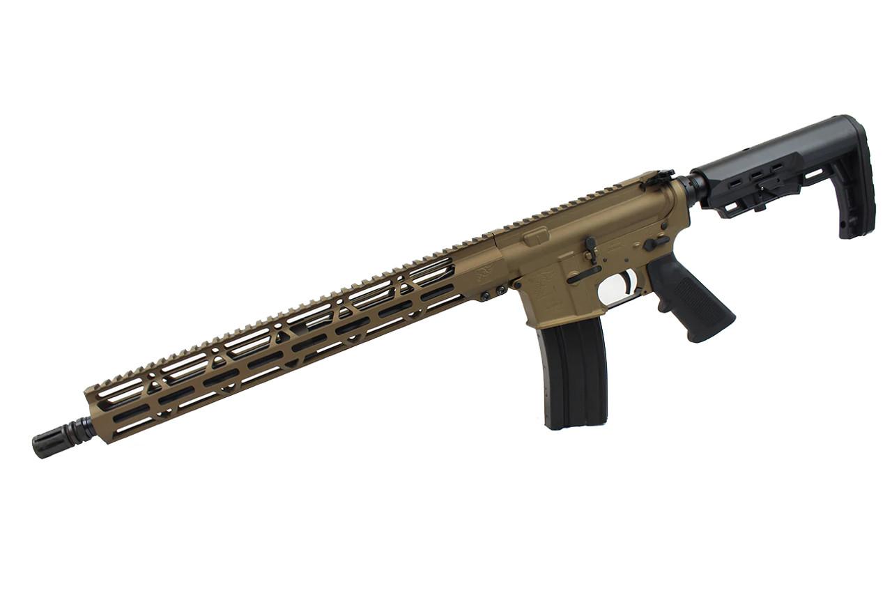 "5.56 Nato 'Operator Series' 16"" Government Complete Rifle / 1:8 Twist / 15"" MLOK Handguard / Burnt Bronze (Z54864)"