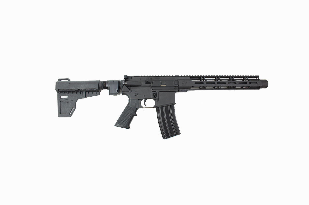 "5.56 Nato 'Operator Series' 10.5"" Complete Pistol / 1:7 Twist / 12"" MLOK Handguard / Kak Blade with Foldable Adapter"