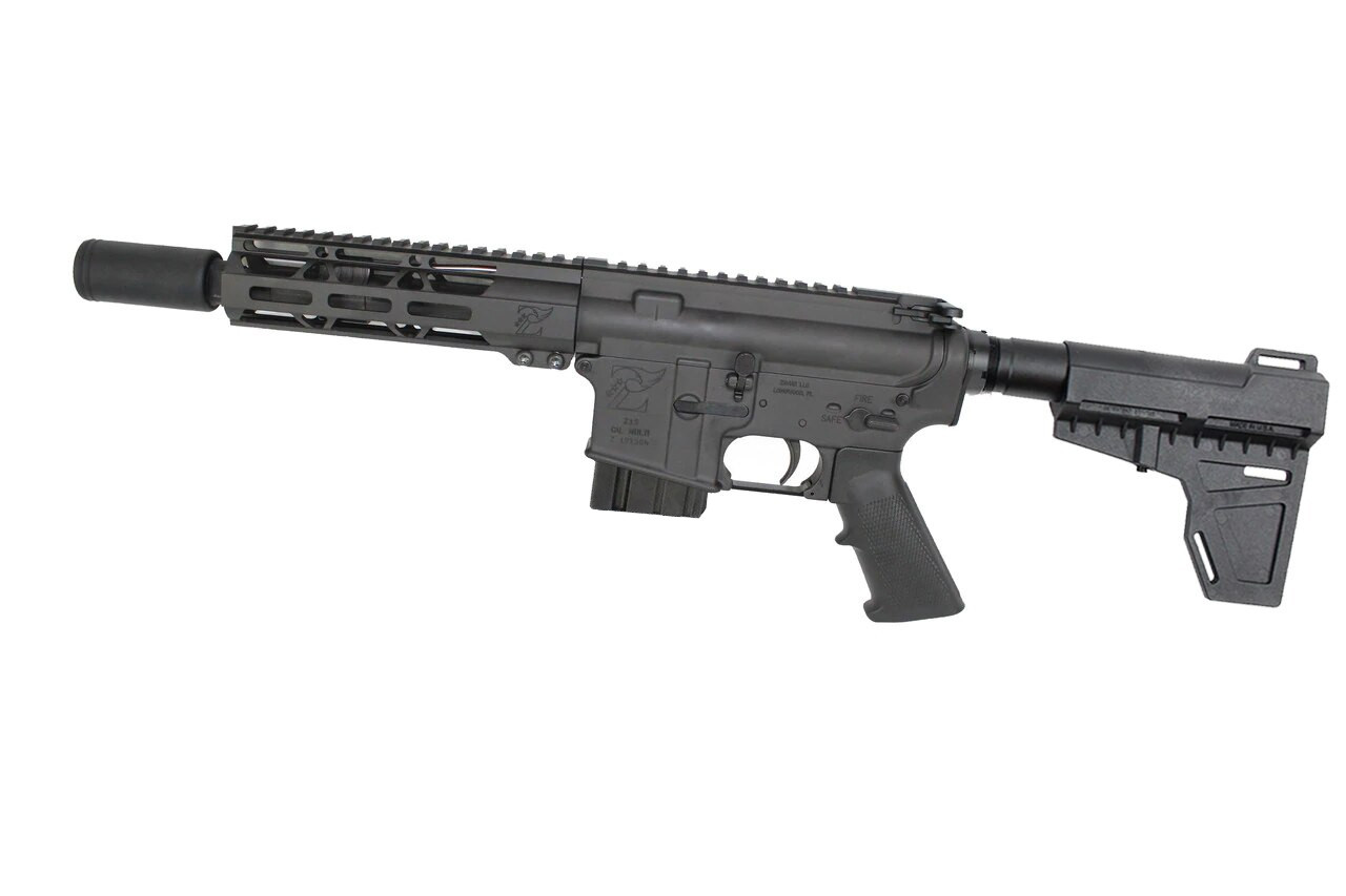 "300AAC Blackout 'Special Ops Series' 7.5"" Nitride Complete Pistol / 1:8 Twist / 7"" MLOK Handguard / Flash Can / Colorado Complainant (Z54908/CO)"