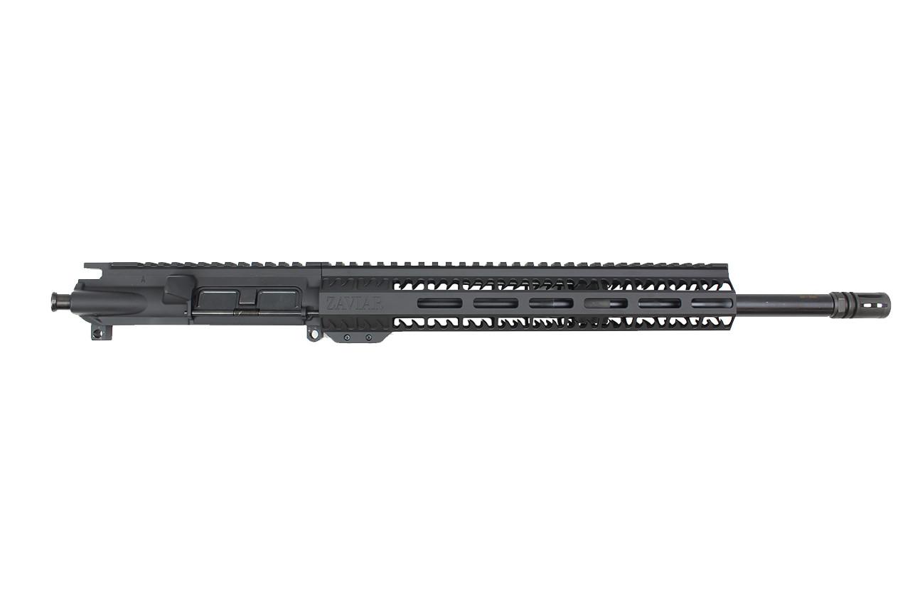 "Zaviar Firearms 5.56 Nato 'Operator Series' 16"" Nitride Upper Receiver / 1:7 Twist / 12"" MLOK Shark Blade Handguard"