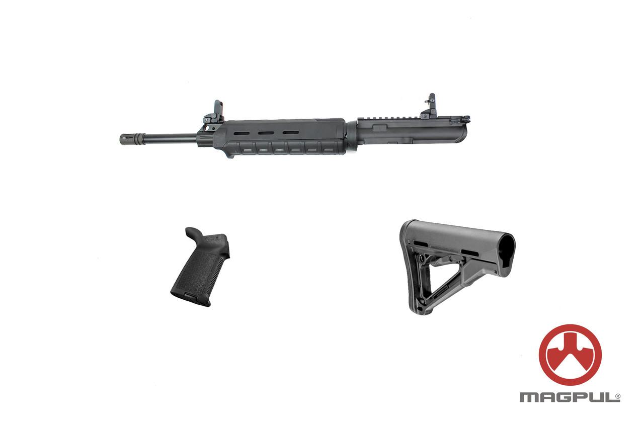 """Zaviar Firearms  **Magpul Combo Series**  5.56 Nato 16"""" Nitride Government Upper Kit / 1:8 Twist"""