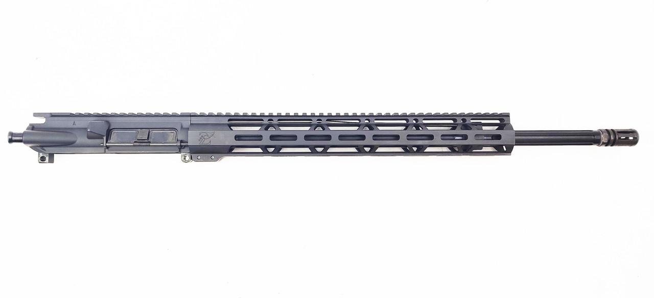 "Zaviar Firearms .223 wylde 'Operator Series' 20"" Nitiride Fluted Upper Receiver / 1:8 Twist / 15"" Mlok Handguard"