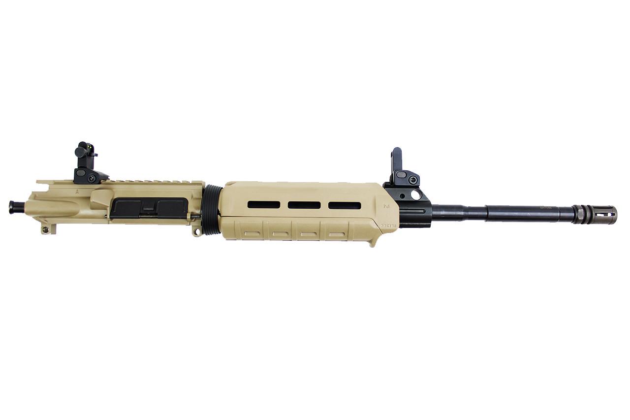 """Zaviar Firearms 5.56 Nato 'Operator Series' 16"""" M4 FDE Upper Receiver / 1:8 Twist / Magpul Carbine Handguard (Z70800)"""