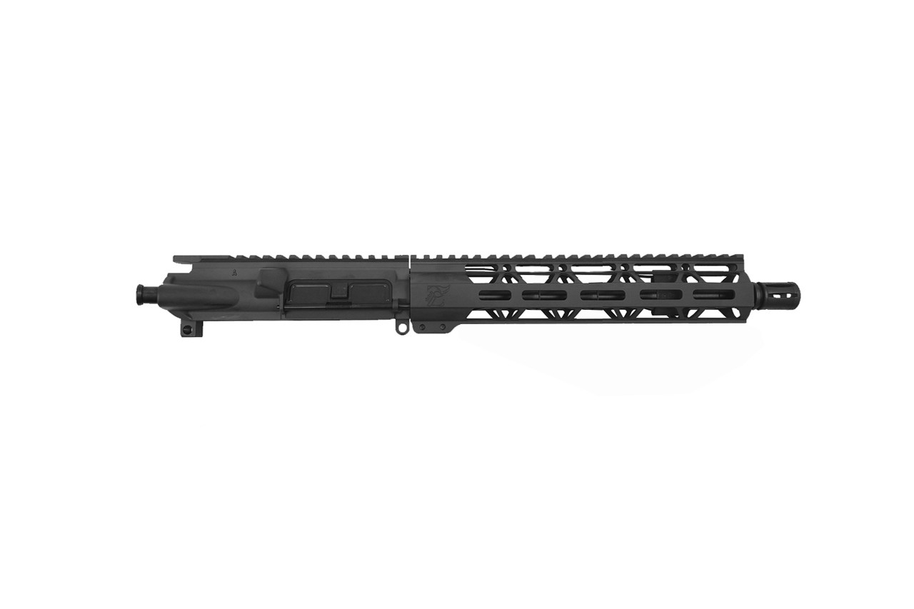 "Zaviar Firearms 5.56 Nato 'Operator Series' 10.5"" Nitride Upper Receiver / 1:7 Twist / 9.5"" MLOK Handguard / A2 (Z70953)"