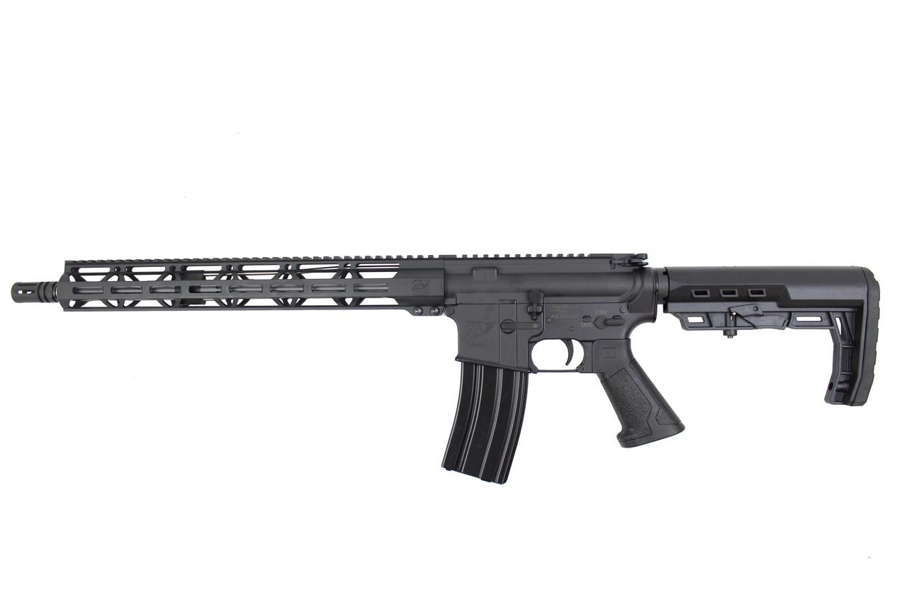 "Zaviar Firearms .223 Wylde 16"" Black Twisted fluted Complete Rifle / 1:8 Twist / 15""Mlok Handguard / Loki Stock (Z71000)"