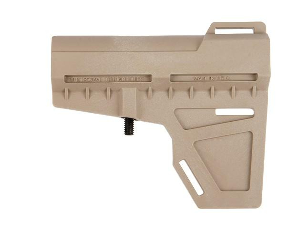 KAK Industries Shockwave Blade, FDE Flat Dark Earth + KAK Shockwave Tube Kit