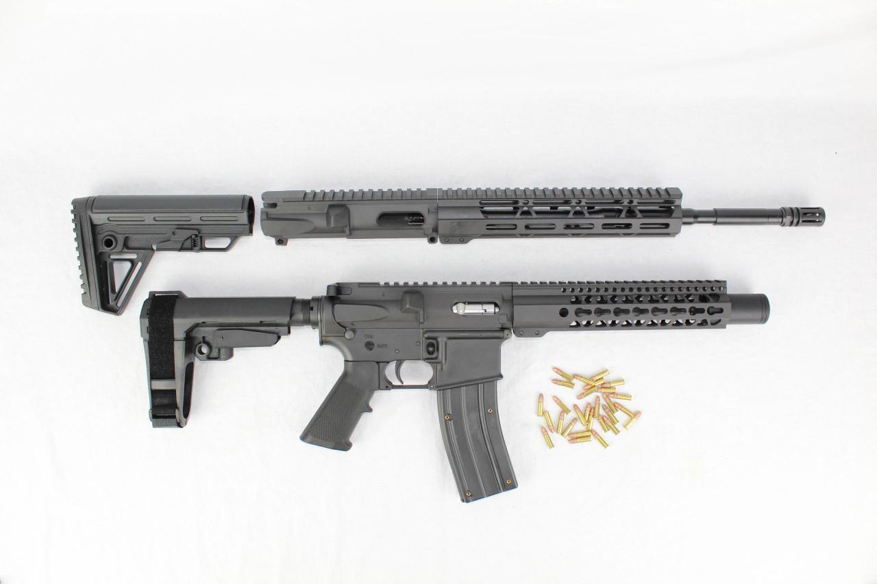 ZAVIAR  22LR SPITFIRE SERIES TWIN GUN SET (PISTOL/CARBINE) 16