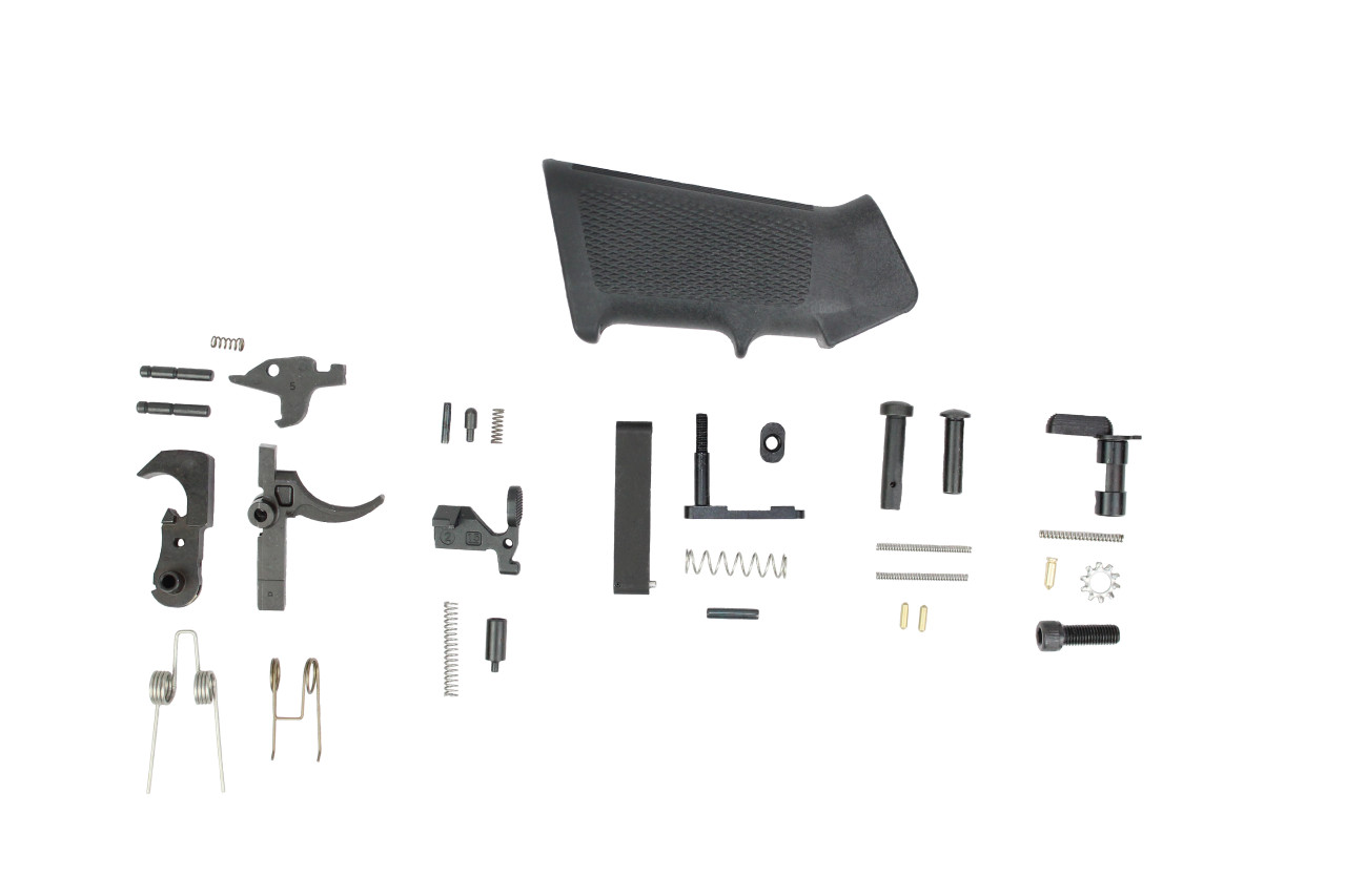 Lower Parts Kit .223 / 5.56 Black Hammer and Trigger