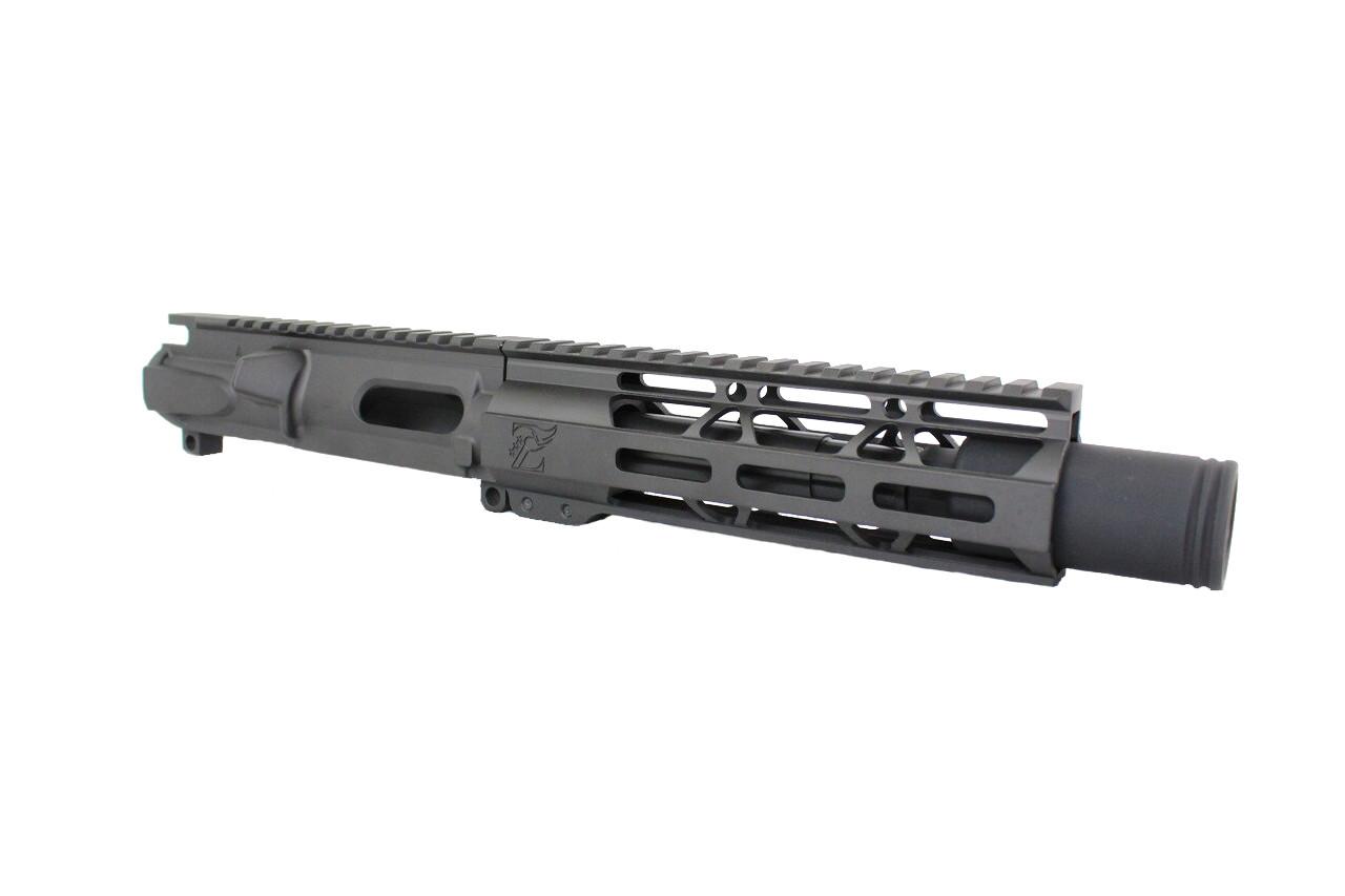 "Z9 'Stinger PDW' 9mm Assembled Upper Receiver | 5.5"" Barrel | 7"" M-LOK Handguard | Zaviar Flash Can Muzzle Device"