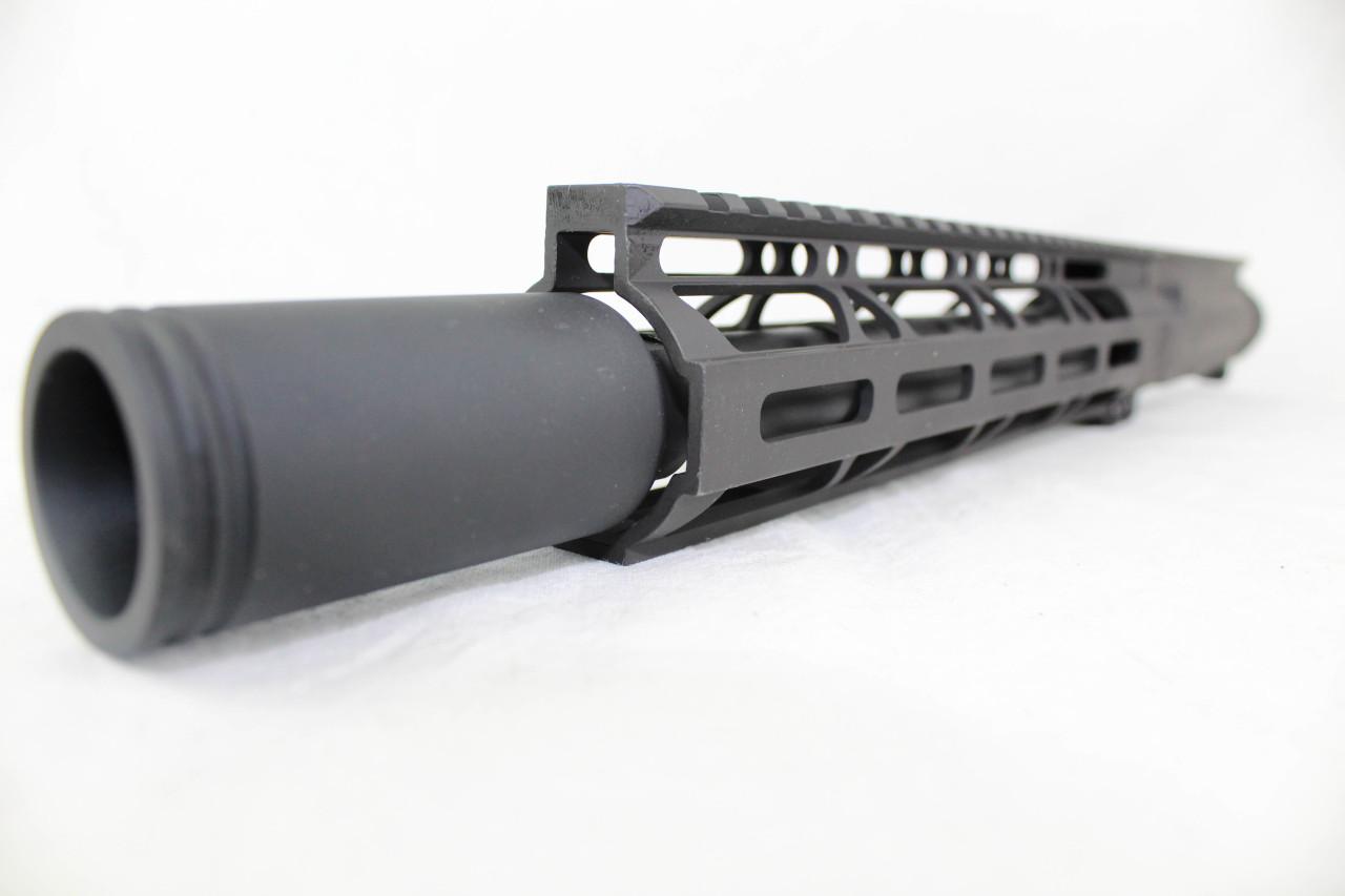 "Z9 'Stinger PDW' 9mm Assembled Upper Receiver | 10.5"" Barrel | 10"" M-LOK Handguard | Zaviar Flash Can Muzzle Device"