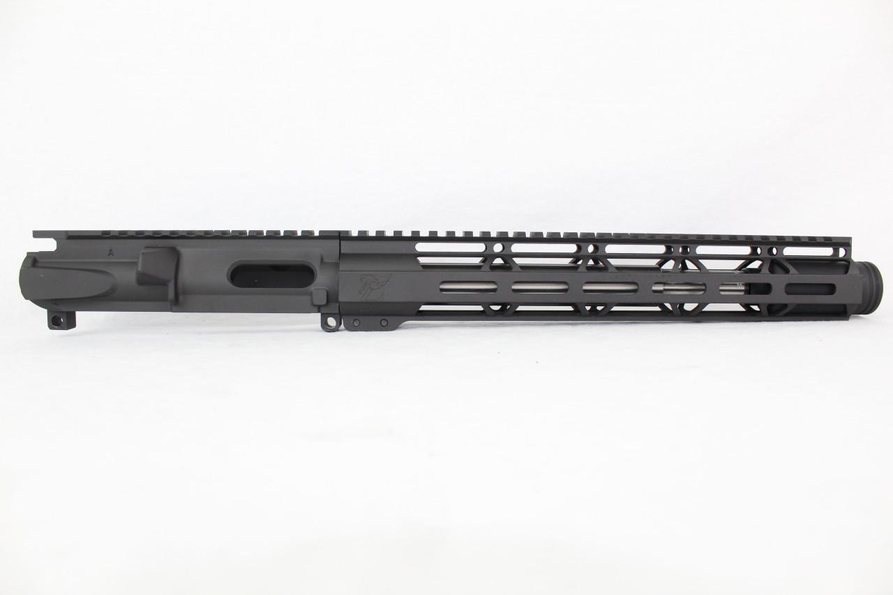 "Z9 'Stinger PDW' 9mm Assembled Upper Receiver | 10.5"" Stainless Steel Barrel | 12"" M-LOK Handguard | Zaviar Flash Can Muzzle Device"