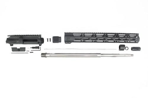 ".223 Wylde 'Operator Series' 20"" Stainless Steel 5R Straight Fluted Upper Kit / 1:8 Twist / 15"" MLOK Handguard"