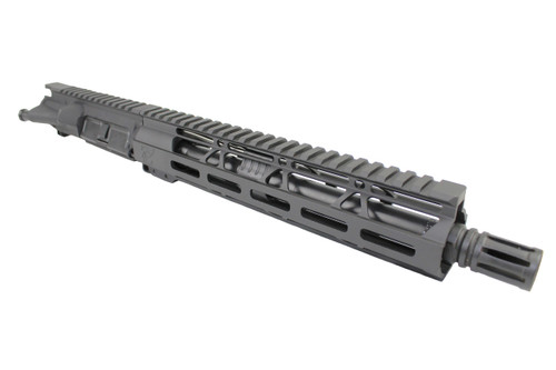 "ZAVIAR AR-15 10.5"" 300AAC BLACKOUT NITRIDE 10"" HANDGUARD ASSEMBLED UPPER RECEIVER"