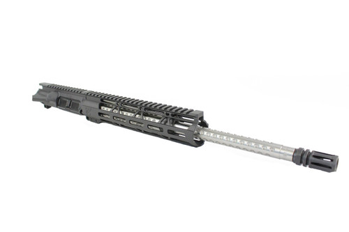 ".223 Wylde 'Operator Series' 16"" Golfball Fluted Stainless Steel Upper Receiver / 1:9 Twist / 10"" MLOK Handguard"