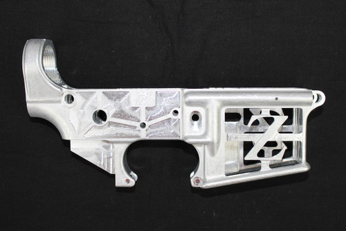 AR-15 (In The Raw) Skeletonized / Stripped Lower Receiver