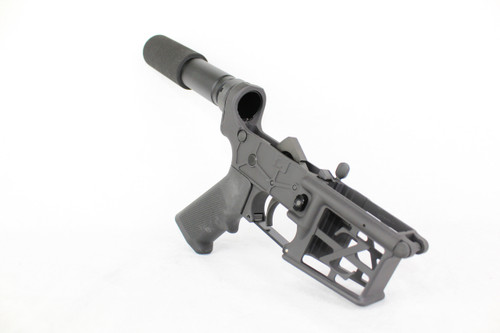 ZAVIAR BLACK CERAKOTED SKELETONIZED COMPLETE LOWER RECEIVER