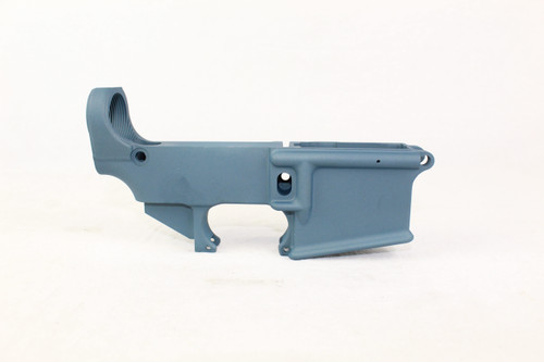 ZAVIAR TITANIUM BLUE CERAKOTED FORGED 80% LOWER RECEIVER