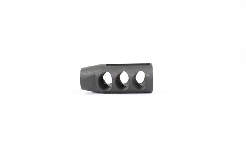 ZAVIAR 1/2x28 THREADED BLACK COMPETITION COMPENSATOR