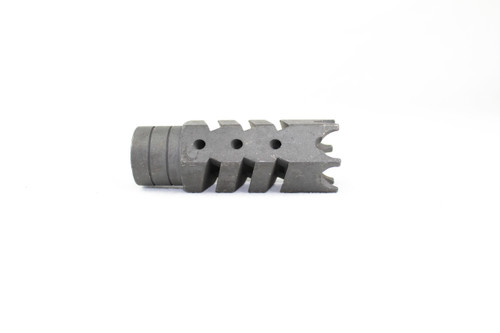 ZAVIAR 5/8x24 THREADED SHARK MUZZLE BRAKE