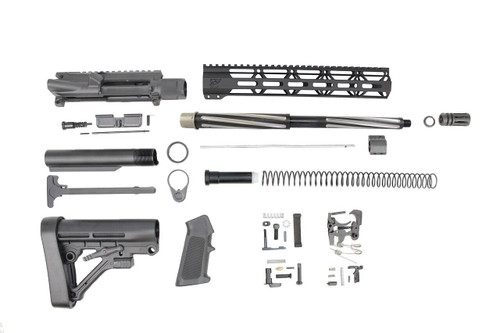 "7.62 x 39 'Wolverine Series' 16"" Bear Claw Builder Kit / 1:10 Twist / 12"" MLOK Handguard"