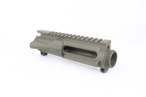 ZAVIAR OD GREEN CERAKOTED MIL-SPEC AR15 STRIPPED UPPER RECEIVER
