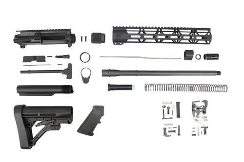 "300AAC Blackout 'Special Ops Series' 16"" Nitride Builder Kit / 1:8 Twist / 12"" MLOK Handguard"