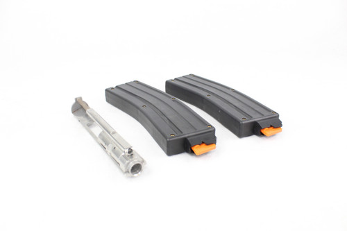 .22 LR Dedicated ARC Bolt Group for AR-15 / (2 PACK) 22LR MAGAZINE