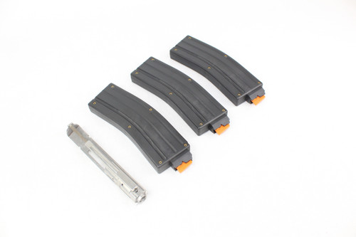 .22 LR Dedicated ARC Bolt Group for AR-15 / (3 PACK) 22LR MAGAZINE
