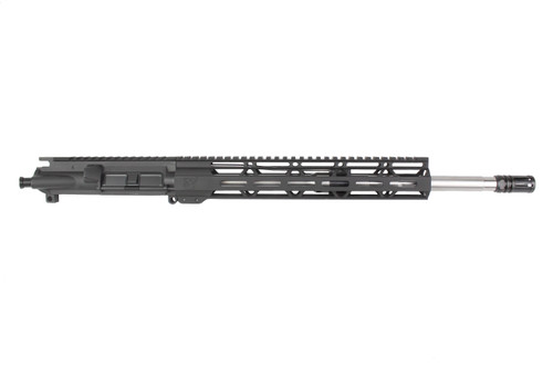 "Z6 'Grendel Series' 16"" 6.5 Grendel Type II Stainless Steel AR15 Upper Receiver with 12"" MLOK Handguard"
