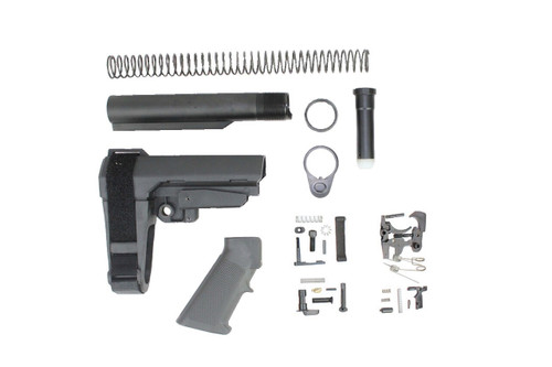 SBA3 BRACE / ZAVIAR LOWER PARTS KIT / ZAVIAR BUFFER TUBE KIT