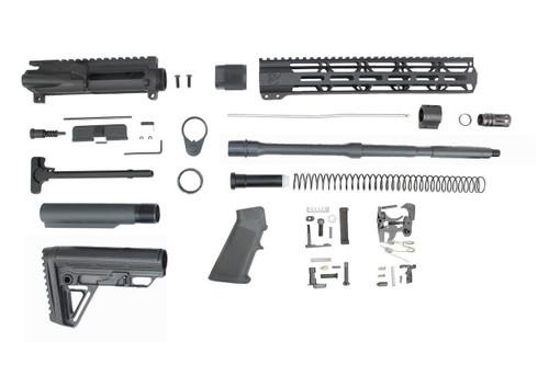 "5.56 Nato 'Operator Series' 16"" Nitride Builder Kit / 1:7 Twist / 12"" MLOK Handguard"
