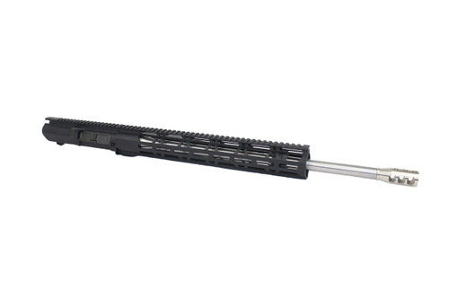 "ZAVIAR (AR-10) 6.5 Creedmoor 20"" Stainless Steel Upper Receiver / 1:8 Twist / 15"" MLOK Handguard"
