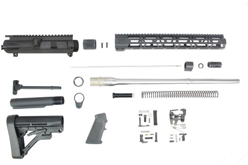 "6.5 Creedmoor 'Infinity Series' 20"" Stainless Steel Builder Kit / 1:8 Twist / 15"" MLOK Handguard"
