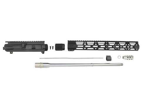 "6.5 Creedmoor 'Infinity Series' 20"" Stainless Steel Upper Kit / 1:8 Twist / 15"" MLOK Handguard"