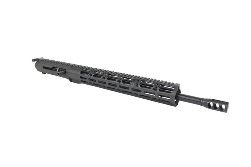 "(AR-10) .308 WIN 18"" Nitride Right Handed Side Charging Upper Receiver / 1:10 Twist / 15"" MLOK Handguard"