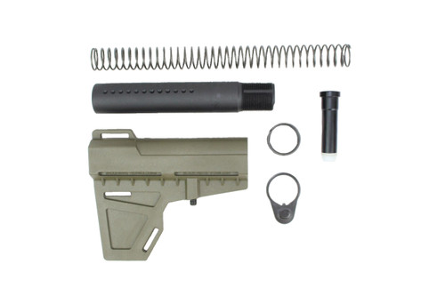 KAK Industries Shockwave Blade, OD Green + KAK Shockwave Tube Kit