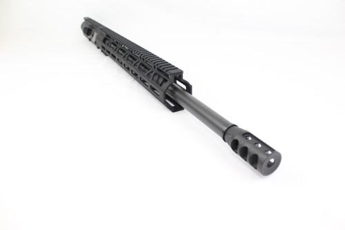 "ZAVIAR (AR-10) 6.5 Creedmoor 20"" Nitride Upper Receiver / 1:8 Twist / 15"" MLOK Handguard"