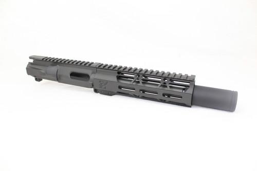 "Z9 'Stinger PDW' 9mm Assembled Upper Receiver | 6.5"" Barrel | 7"" M-LOK Handguard | Zaviar Flash Can Muzzle Device"