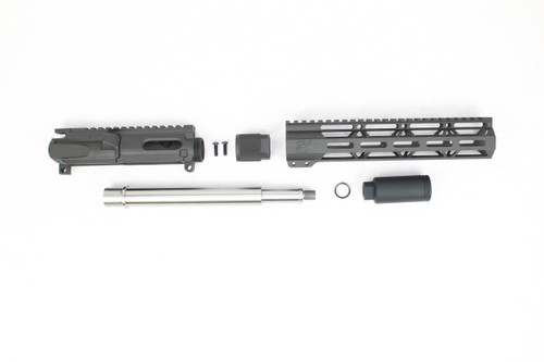 "ZAVIAR 'PDW SERIES' UPPER KIT / 9.5""- 10.5"" STAINLESS STEEL / 1:10 TWIST / 10"" MLOK HANDGUARD"