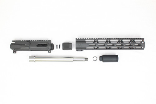"ZAVIAR 'PDW SERIES' UPPER KIT / 9.5""- 10.5"" STAINLESS STEEL / 1:10 TWIST / 12"" MLOK HANDGUARD"